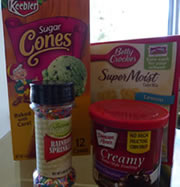 teepee ice cream cones