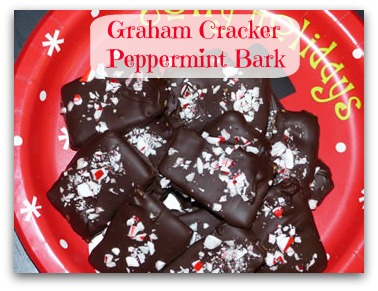 Graham Cracker Peppermint Bark