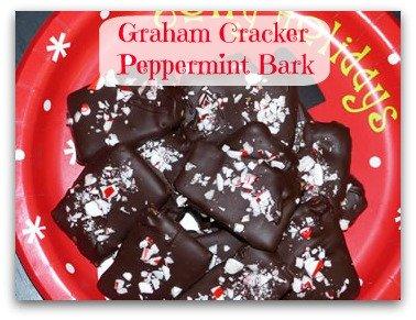Graham Cracker Peppermint Bark