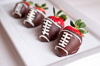 Kids Football Party Snacks