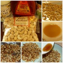 cinnamon maple cashews