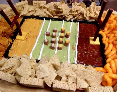 Football party snack idea