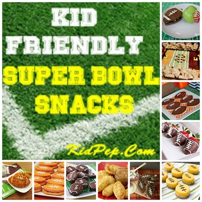 Kid Friendly Super Snack Ideas