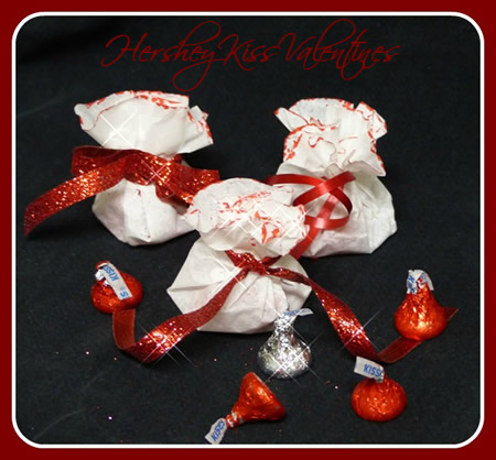 Hershey Kiss Kids Valentines Day Craft