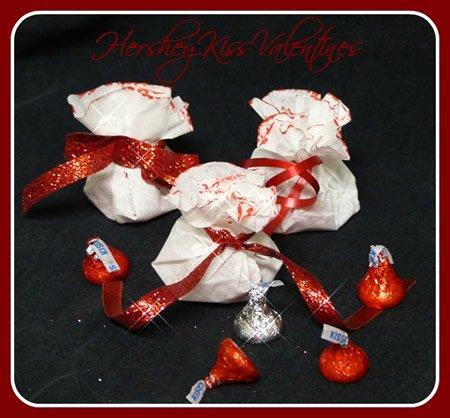 Hershey Kiss Kids Valentines Day Craft