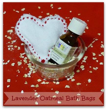 Lavender Oatmeal Bath Bags