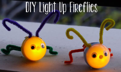 Light Up Firefly Craft