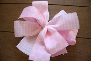 instructions for making hair bows