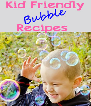 bubble recipes for kids