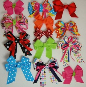 easy girls hair bow instructions or tutorial