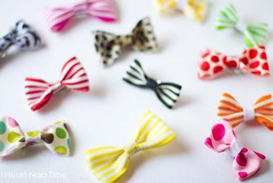 how to make kids hair bows