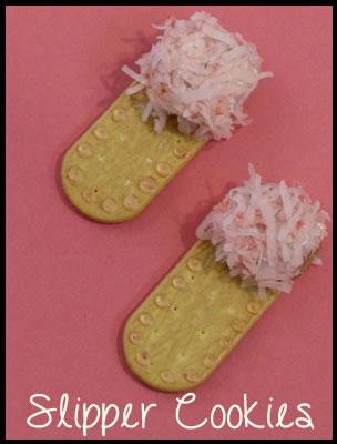 how to make slipper cookies