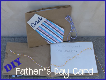 kids fathers day cards