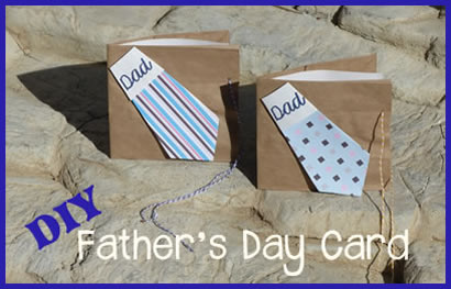 homemade fathers day cards for children