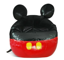 mickey mouse bean bag chair cover