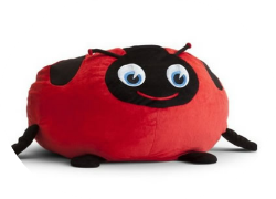 lady bug bean bag chair for kids
