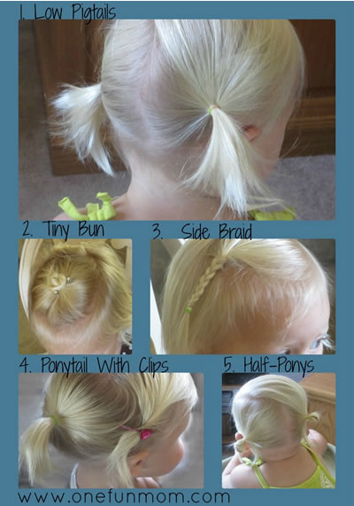 How-To Hair Styles For Toddler Girls