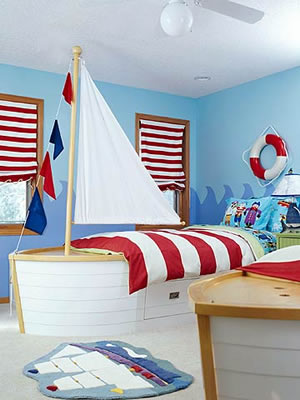 Boys Nautical Bedroom Ideas