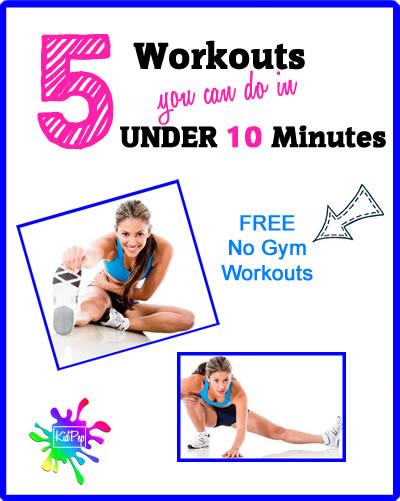 quick full body workouts for women & men
