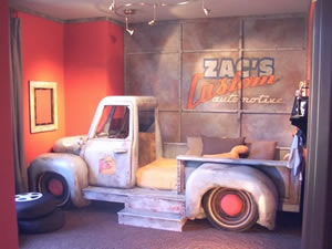 Vintage Truck Bedroom Inspiration