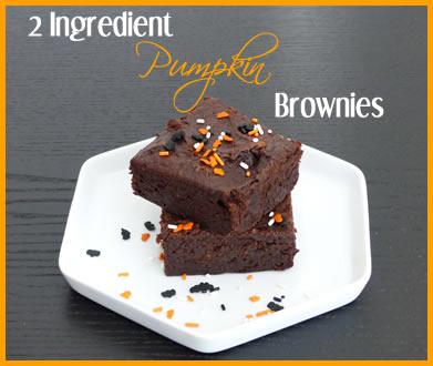 2 Ingredient brownies