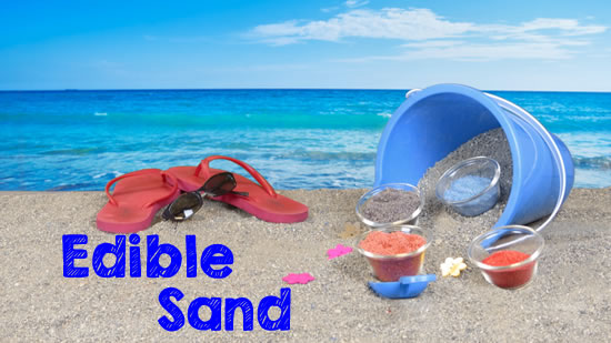 How To Make Colored Edible Sand
