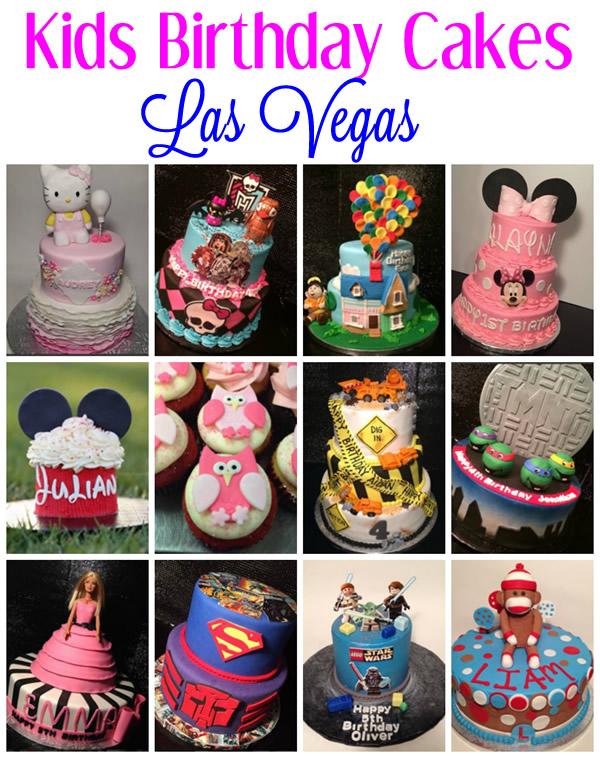 kids birthday cakes las vegas nevada