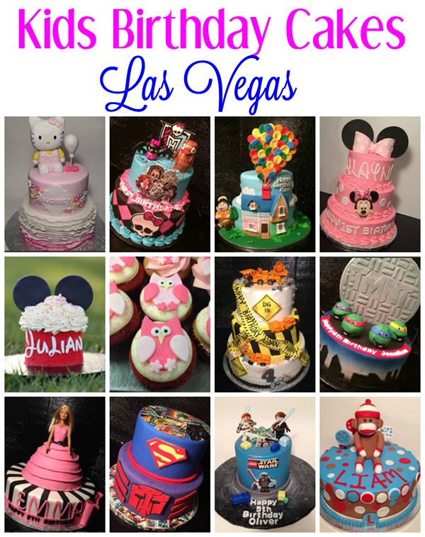 kids birthday cakes las vegas nevada