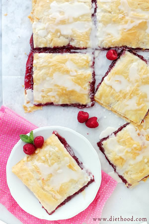 Phyllo-Raspberry-Pop-Tarts-with-Vanilla-Glaze