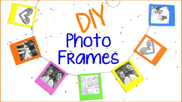 DIY Crafts - Photo Frame Ideas and Decorations