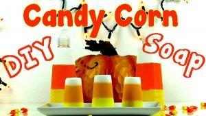 DIY Candy Corn Soap