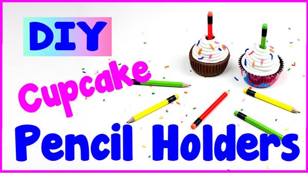 iy cupcake pencil holders